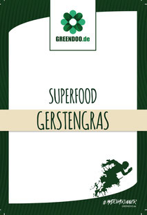 Gerstengraspulver greendoo Bio Gerstengras