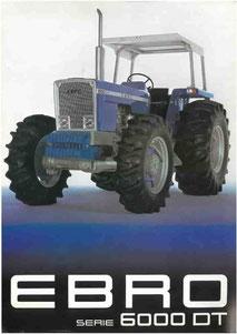 Ebro Tractor 6080 6100 6125 DT