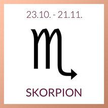 Skorpion Edelstein