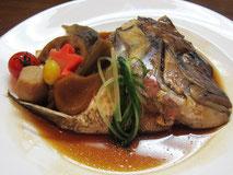 アラカルト⑦ 魚煮付け