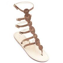 sandali gladiatore cuoio