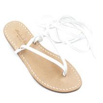 sandali alla schiava bianchi