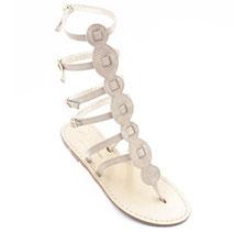sandali gladiatore chiari