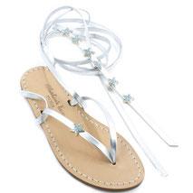 sandali alla schiava decorati