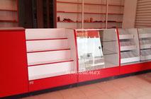 Vitrina de cristal, vitrinas de madera, vitrinas exhibidoras, aparadores, vitrinas para negocio.