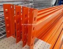 Estanterías metálicas, racks, Estantes para carga pesada