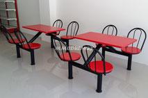 mesas, barras para comida