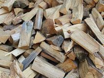 Brennholz, Scheitholz, Fichte, Waldmischung, Kaminholz