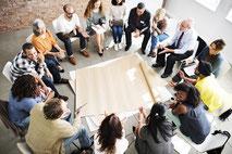 Moderation Workshops, Moderation Grossgruppen-Veranstaltungen