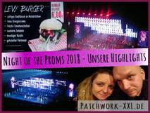 Night of the Proms NOTP 2018 Highlights Blog Video Show Künstler Hobby Konzert Familie