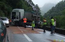 Camion contre Esquit le 12 août 2010 (recto)