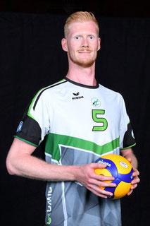 Moritz Schüller Volleyball Bundesliga Spieler des VC Bitterfeld-Wolfen