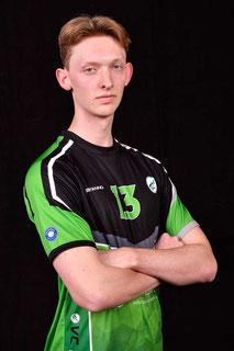 Max Cornelius Vriend Volleyball Bundesliga Spieler des VC Bitterfeld-Wolfen