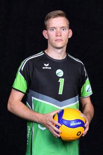 Michael Hassmann Volleyball Bundesliga Spieler des VC Bitterfeld-Wolfen