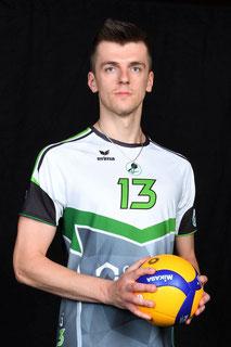 Kornel Kowalewski Volleyball Bundesliga Spieler des VC Bitterfeld-Wolfen