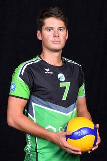 Eyk Mischke  Volleyball Bundesliga Spieler des VC Bitterfeld-Wolfen