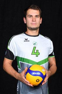 Paul Eisel Volleyball Bundesliga Spieler des VC Bitterfeld-Wolfen