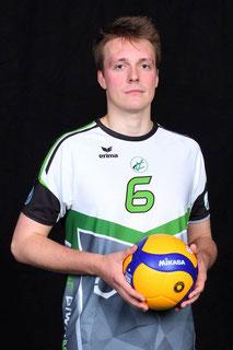Maksymilian Warzywoda Volleyball Bundesliga Spieler des VC Bitterfeld-Wolfen