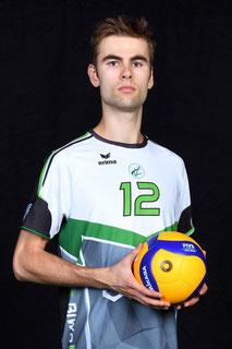 Robert Poole Volleyball Bundesliga Spieler des VC Bitterfeld-Wolfen