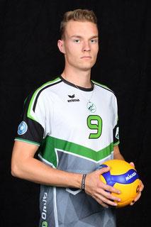 Lukas Pockrandt  Volleyball Bundesliga Spieler des VC Bitterfeld-Wolfen