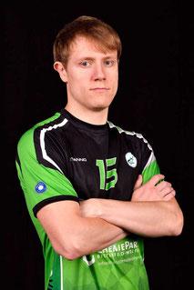 Michał  Marszałek Volleyball Bundesliga Spieler des VC Bitterfeld-Wolfen