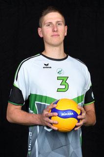 Mirko Schneider Volleyball Bundesliga Spieler des VC Bitterfeld-Wolfen