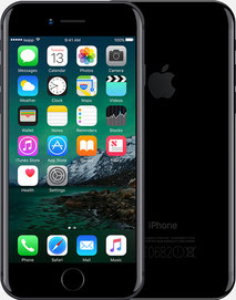 iPhone 7, diamantschwarz/jet black