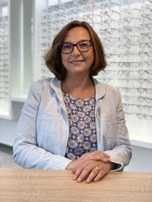Heidi zur Mühlen, Mitarbeiterin beim GlasHaus - dem optiker