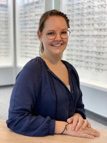 Simone Bostelmann, Mitarbeiterin beim GlasHaus - dem optiker