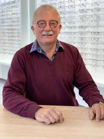 Raimund Brodny, Mitarbeiter beim GlasHaus - dem optiker