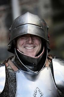 Wolfgang von Barrenstein in Rüstung, Hauptmann Zonser Garnison