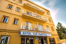 Eingang Hotel Amic Pastilla **
