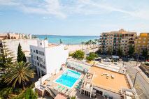 Schwimmbad Hotel Amic Miraflores ***