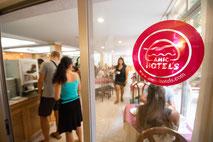 Bar und Restaurant bis 100 Meter