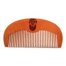 Bartkamm Holz natur  von Heisen Beard