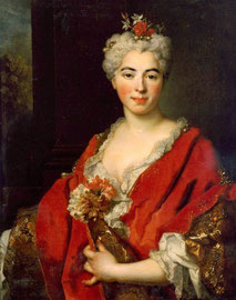 Portrait de Marguerite-Elisabeth de Largillierre (1701-1756) / Photo Palais des Beaux-Arts de Lille