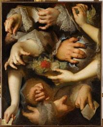 Nicolas de Largillière, Etudes de mains / RMN Musée du Louvre