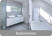 Bad und Sanitärbereich, Kalk auf Glas, Bad, Dusche, Wachbecken gründlich entfernen.