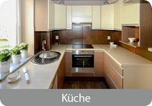 Küche und Inneneinrichtung pflegen und reinigen.