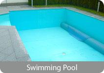 Swimming Pool, Poolfolien, Schwimmbad einfach reinigen, Algen entfernen, Kalkablagerungen entfernen
