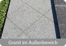 Verwenden Sie RustyEx zur effizienten Reinigung von Granit im Außenbereich