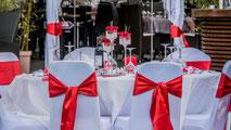 Décoration mariage moderne et romantique