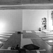 Notre salle de pratique de Méditation