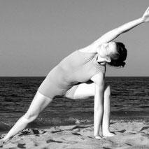 Posture de Hatha Yoga - Le guerrier