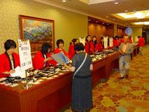 東京の実行委員は全員が法被を着用。お江戸のおなじみの伝統衣装で、同じ集団の絆をあらわすものだそうです