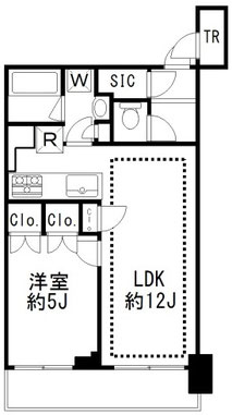 BAYS TOWER&GARDEN(ベイズタワー&ガーデン) 517間取り図面