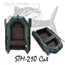 Schlauchboot Aqua-Storm STM-210 Cat inflatable boat Kolibri Zeck Fisching Allroundmarin