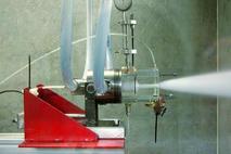 Une turbine à jet de brouillard pour la lutte contre les incendies (LEGI, Licence d'exploitation en cours)