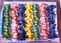 Caramelle multicolore