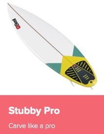Best Stubby Pro Waveboard